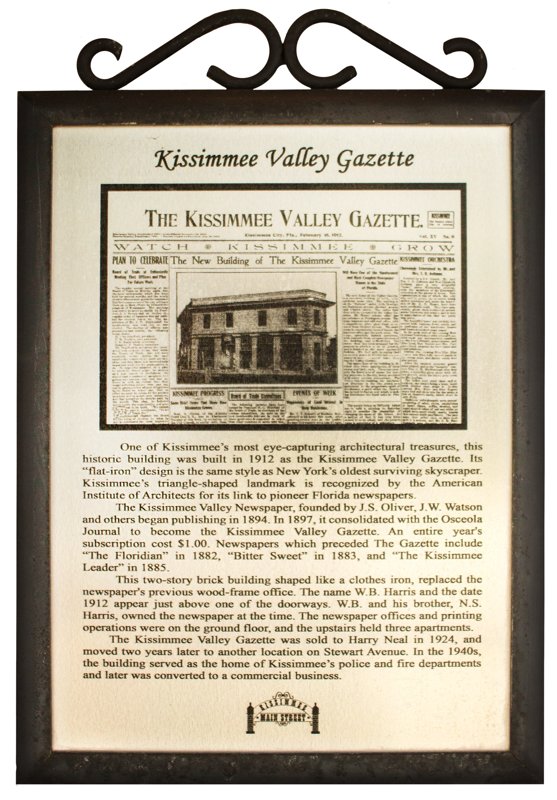 Kissimmee Valley Gazette